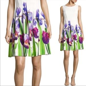 Calvin Klein Floral Fit and Flare Dress